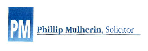 Phillip Mulherin, Solicitor